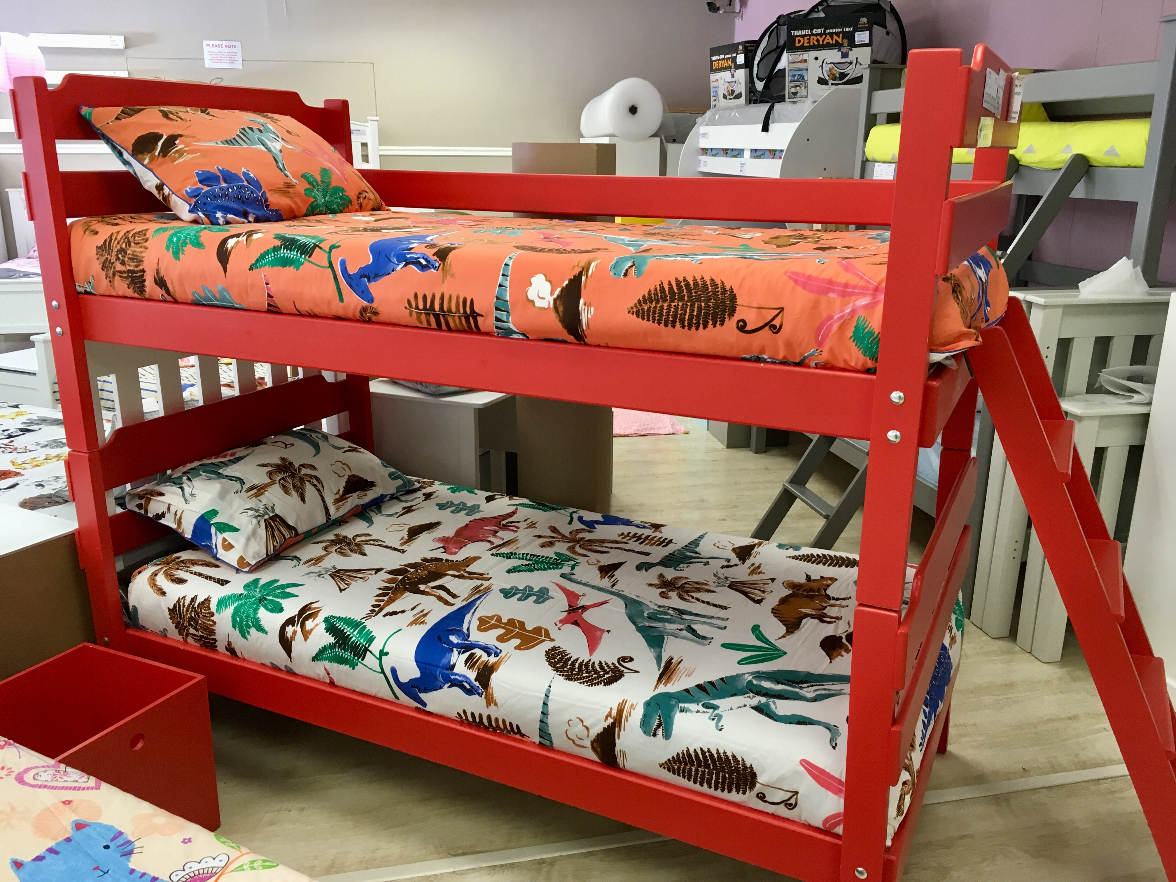 Deryan Peuter Bed.The Luke Bunk Bed Simple Affordable Kids Cove
