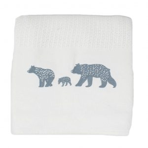 Bear Cellular Blanket_ Kids Cove