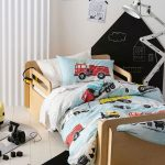 Dusty Blue Duvet Cover D7 - Kids Cove