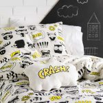 Calling all superheroes duvet cover detail - Kids Cove