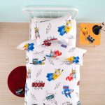 Boom Bam Pow duvet cover - Kids Cove