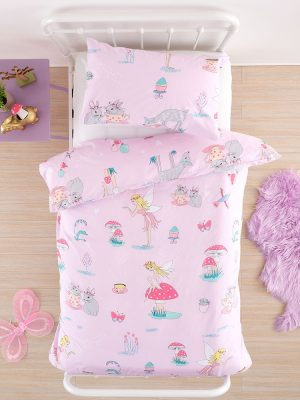 Fairy Tea Party Duvet Cover above - Kids Cove