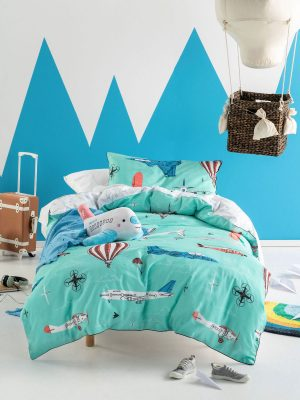 Fly with me duvet cover - Kids Cove