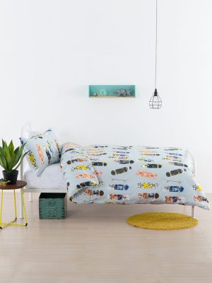 Boardertown Duvet Cover Set -Kids Cove