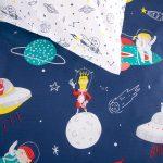 Space Squad Duvet Cover pillow - Kids Cove