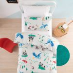Dragons Knights and Castles Duvet Cover (above) - Kids Cove