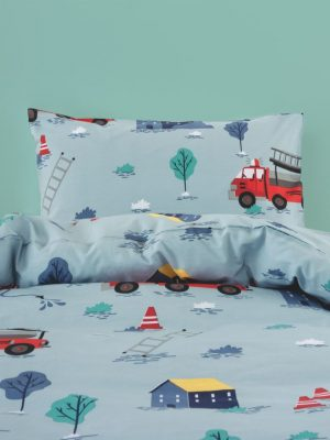 Fire Heroes Duvet Cover - Kids Cove
