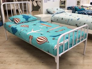 Alex Metal Bed Single - no underbed - Kids Cove