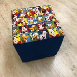 Disney Character Ottoman Footstool - Kids Cove