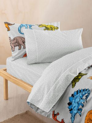 Liam Grey Sheet Set - Kids Cove