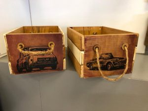 Wooden Storage Crate options - Kids Cove