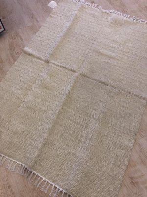 Cream Large Cotton Rug 150x100 - Kids Cove