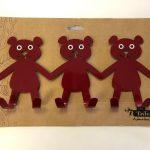 Three Bears Tin Hook - Kids Cove